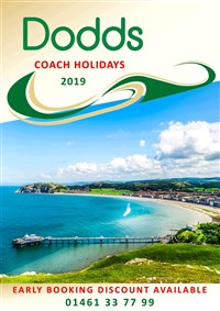 2019 May-Dec Coach Holidays