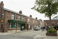 Christmas on 'The Cobbles'