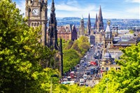 Perthshire and Edinburgh