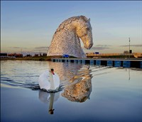 Falkirk Wheel and Kelpies
