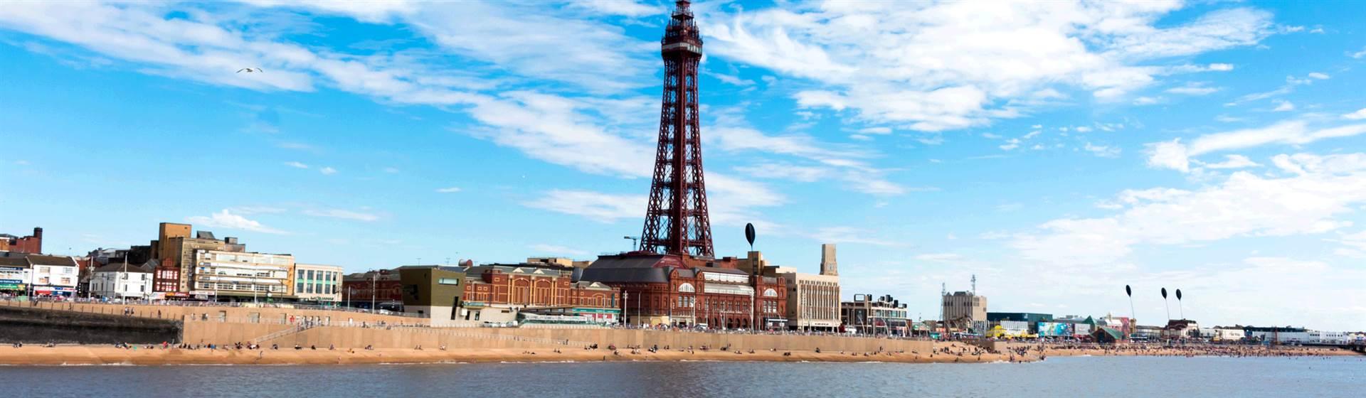 Blackpool with Half Price Bar